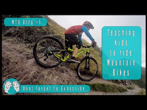 Teaching kids to ride MTB safely with Jim Buchanan