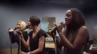 Sugababes - Push the Button LIVE @ Capital FM (August 2009)