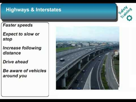 Defensive Driving - Safety Training Video Course - SafetyInfo.com