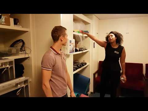 Celebrity Cruises Eclipse behind the Scenes Backstage Theatre Tour