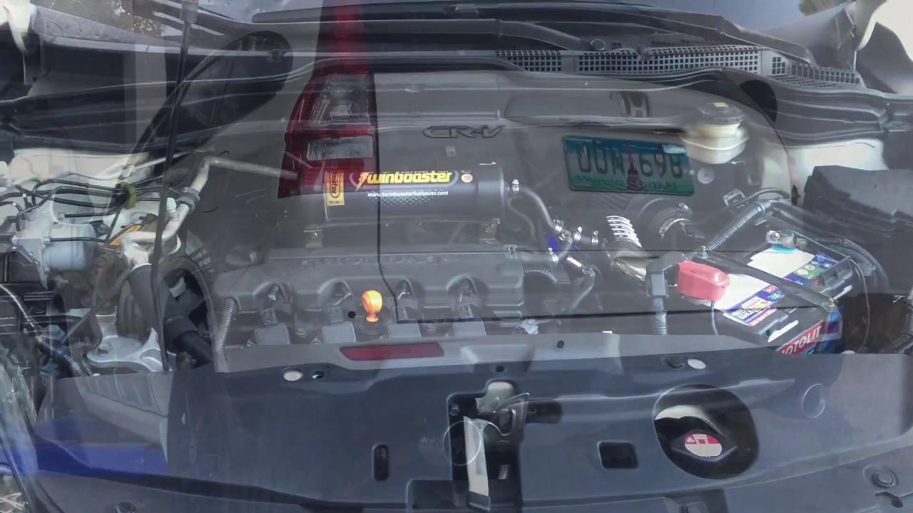 honda crv air intake and exhaust system (drift xaust)