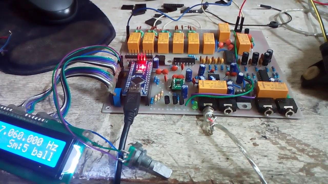 LMR SDR Transceiver rx test