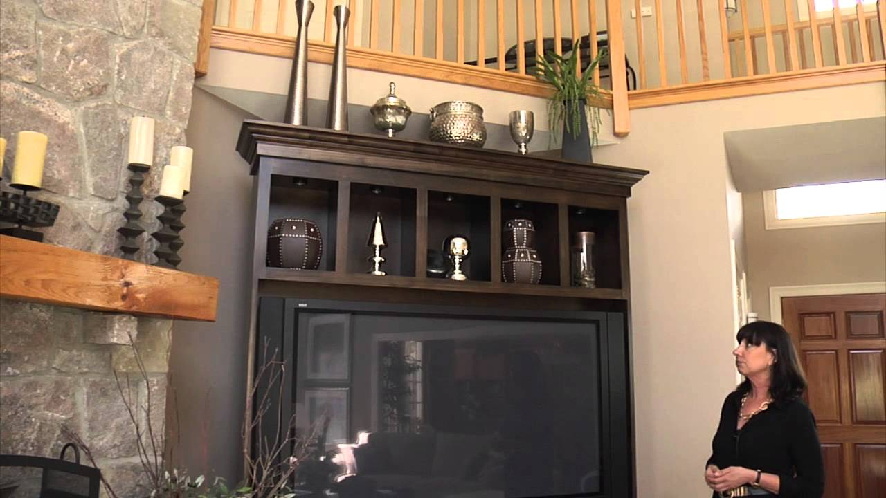 How To Decorate The Top Of An Entertainment Center Bookcase Home