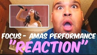 Video Ariana Grande - Focus AMAs Performance 2015 [REACTION] download MP3, 3GP, MP4, WEBM, AVI, FLV Agustus 2018