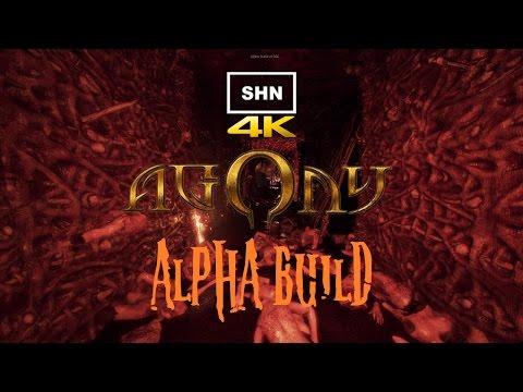 AGONY Alpha Version 4K/Full HD 1080p/60fps Walkthrough Gameplay No Commentary