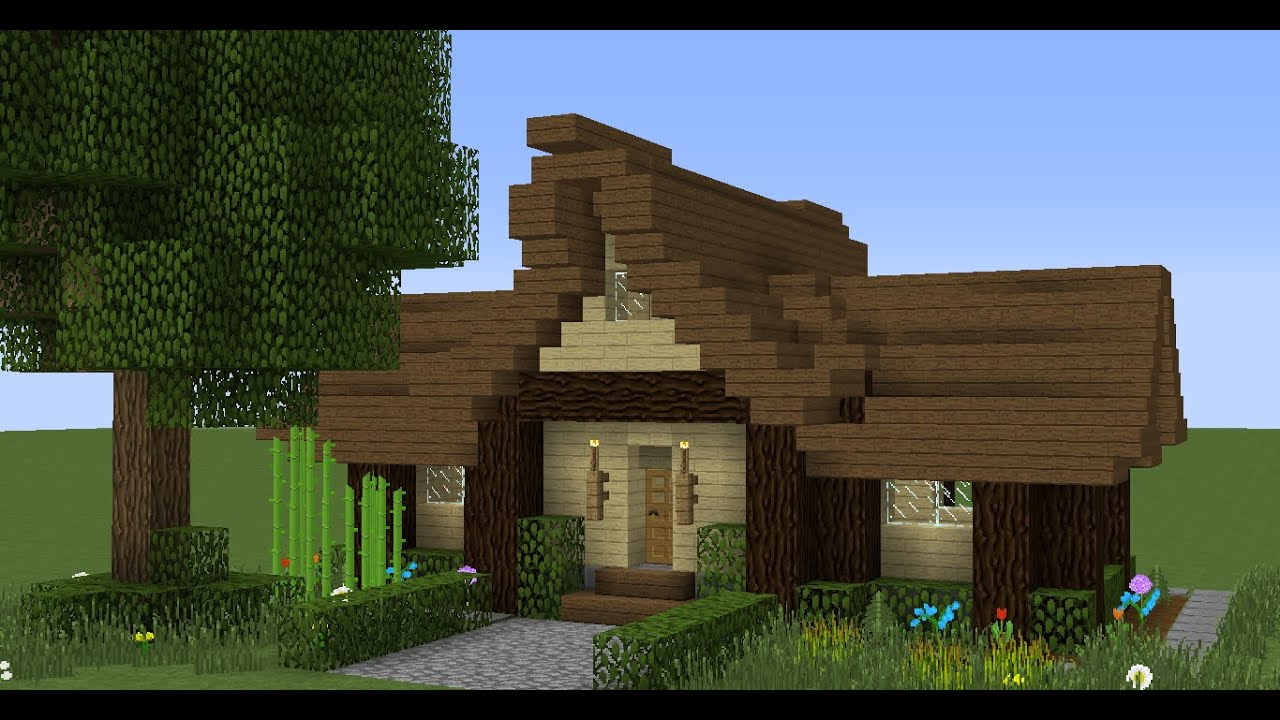 Minecraft Simple Medieval House Tutorial Easy To