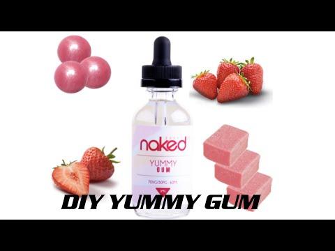 DIY E-JUICE / NAKED - YUMMY GUM