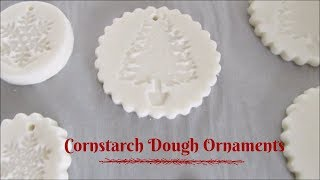 Cornstarch Dough Ornaments