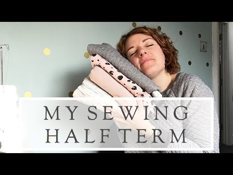 Sewing Half Term || The Fold Line Vlog