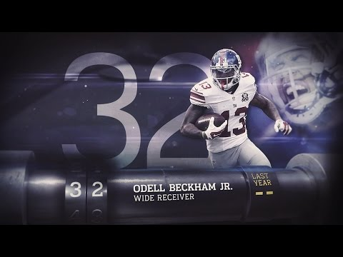 #32 Odell Beckham (WR, Giants) | Top 100 Players of 2015