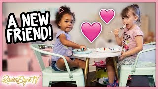 YouTube Moms Hang Out + Ziya's New Friend! | MOM VLOG