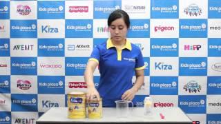 Hướng dẫn cách pha sữa Enfamil A+ số 1 đúng cách