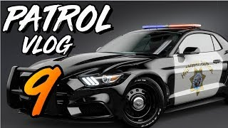 OFFICER INVOLVED CAR ACCIDENT (Virtual Ride Along Ep 9)