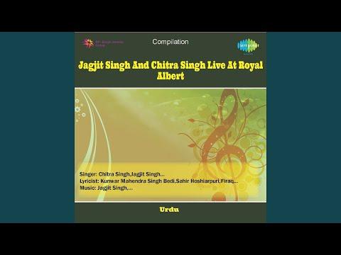 Sarakti Jaye Hai Rukh Se Naqab Aahista Aahista Live Jagjit Singh