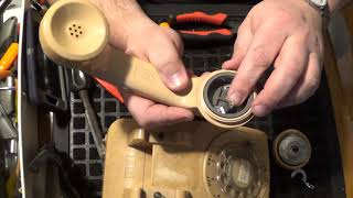 Scrapping a Vintage Rotary Phone for FREE GOLD! ...and brass and other stuff. -Moose Scrapper