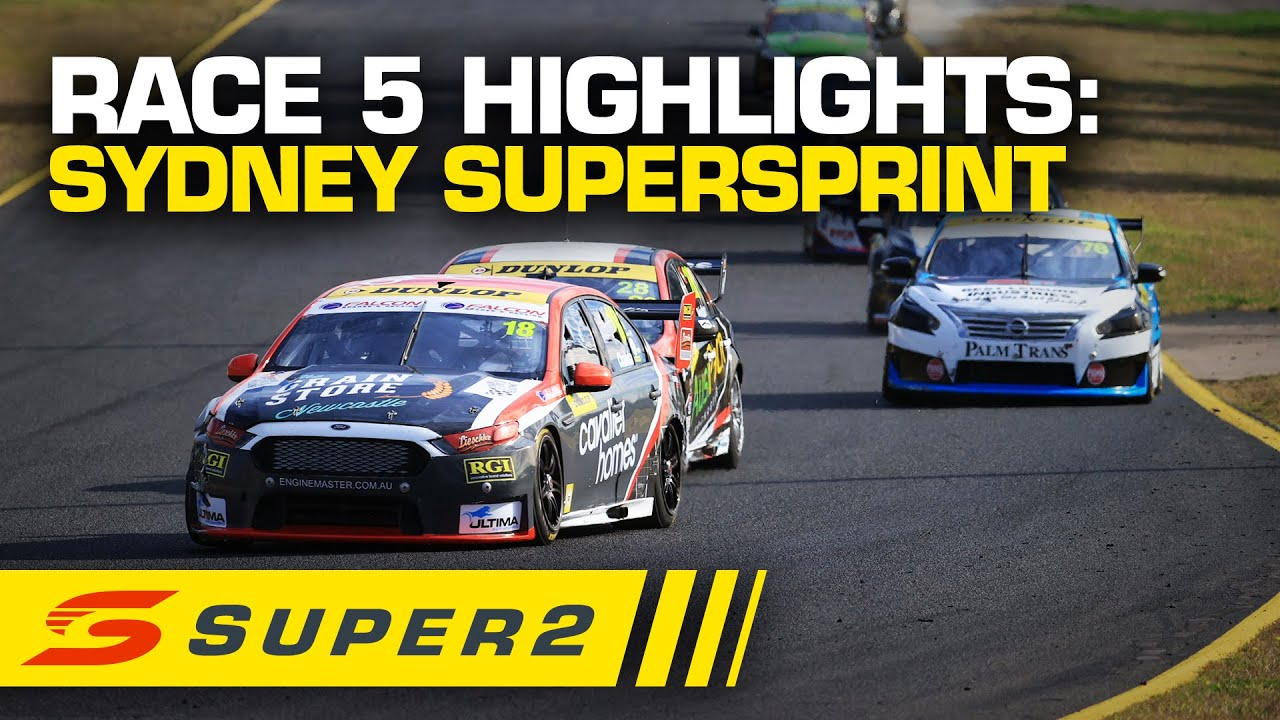 Highlights: Race #5 - Sydney SuperSprint | Super2 2020