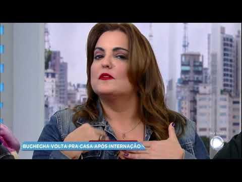Hora da Venenosa: cantor Buchecha volta para casa após suspeita de infarto