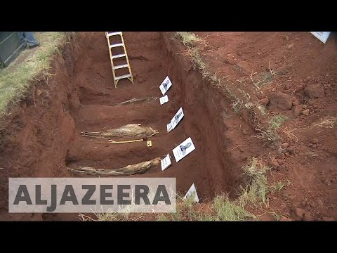 South Africa: Apartheid-era victims' remains exhumed