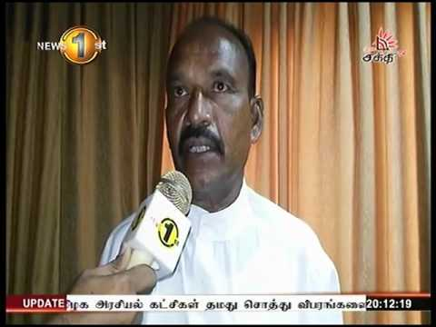 News 1st Prime time 8PM  Shakthi TV 26th April 2016