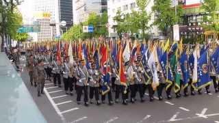 독일 친구가 본 국군의 날 시가행진, Military Parade in Korea, 1. Oct. 2013.