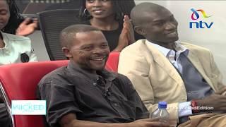Funny matatu hawker, Jackson Kingori, amuses Dr.  King'ori || Wicked Edition