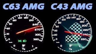 mercedes c63 amg vs c43 amg acceleration 0 250 v8 sound v6 sound c450 amg w205 berlintomek