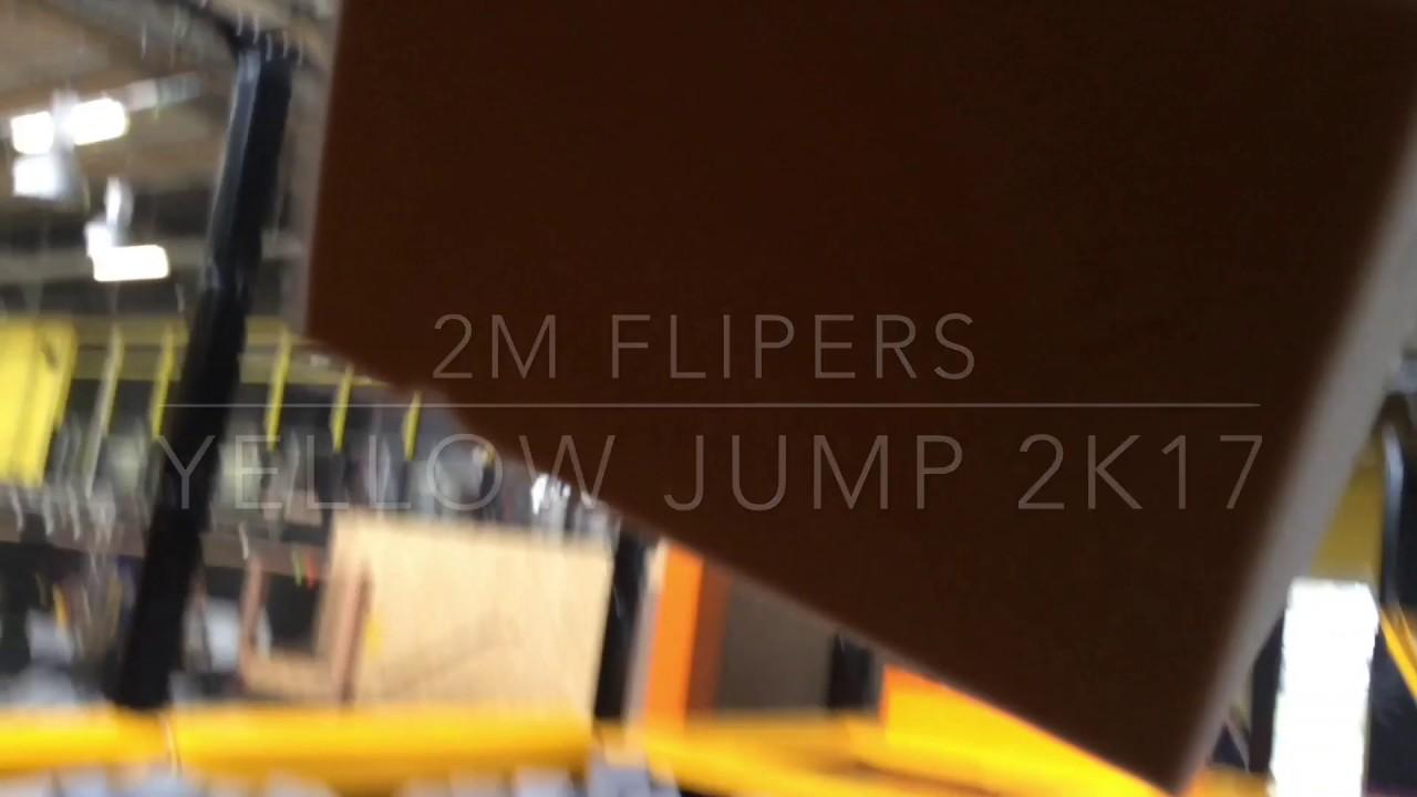 Yellow jump trampoline park saint etienne winter edit 2017 youtube - Trampoline saint etienne ...