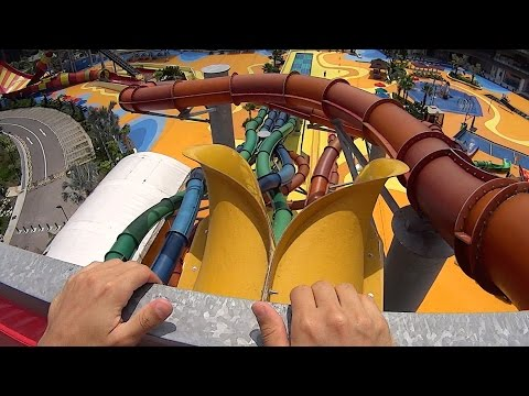 Free Fall Water Slide at Wild Wild Wet
