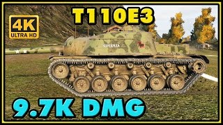 World of Tanks | T110E3 - 5 Kills - 9,7K Damage Gameplay