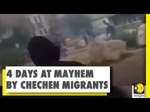 French city of Dijon turns into war zone | Armed Chechens co