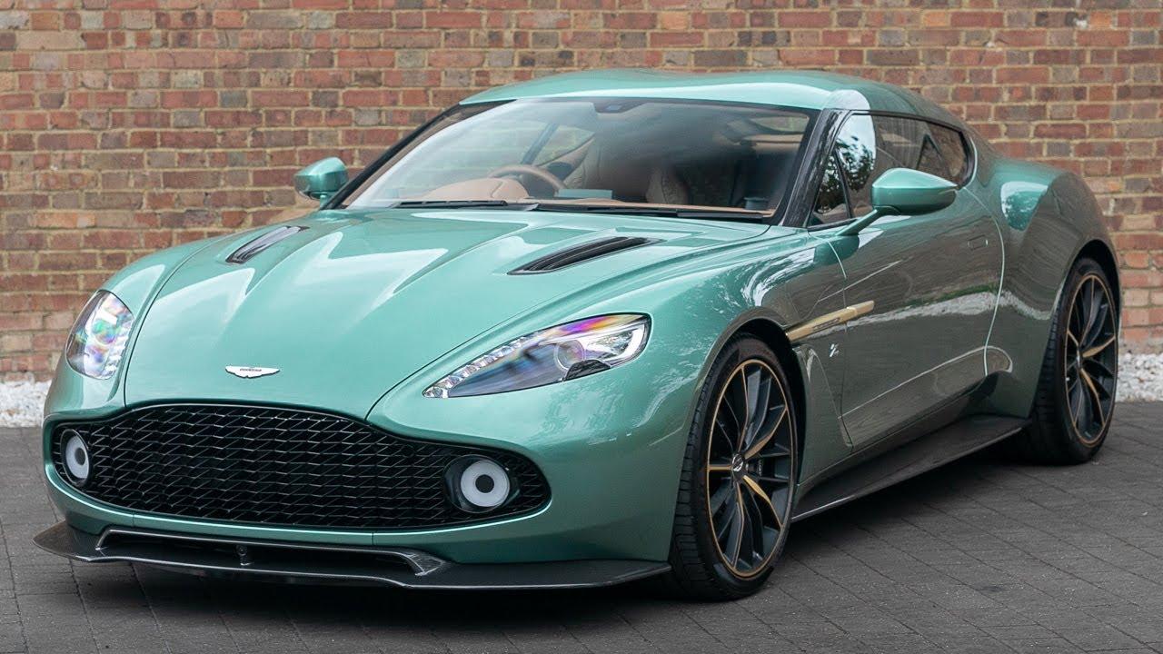 2017 Aston Martin Vanquish Zagato Coupe Green Q Special Paint Walkaround Interior Exhaust Youtube