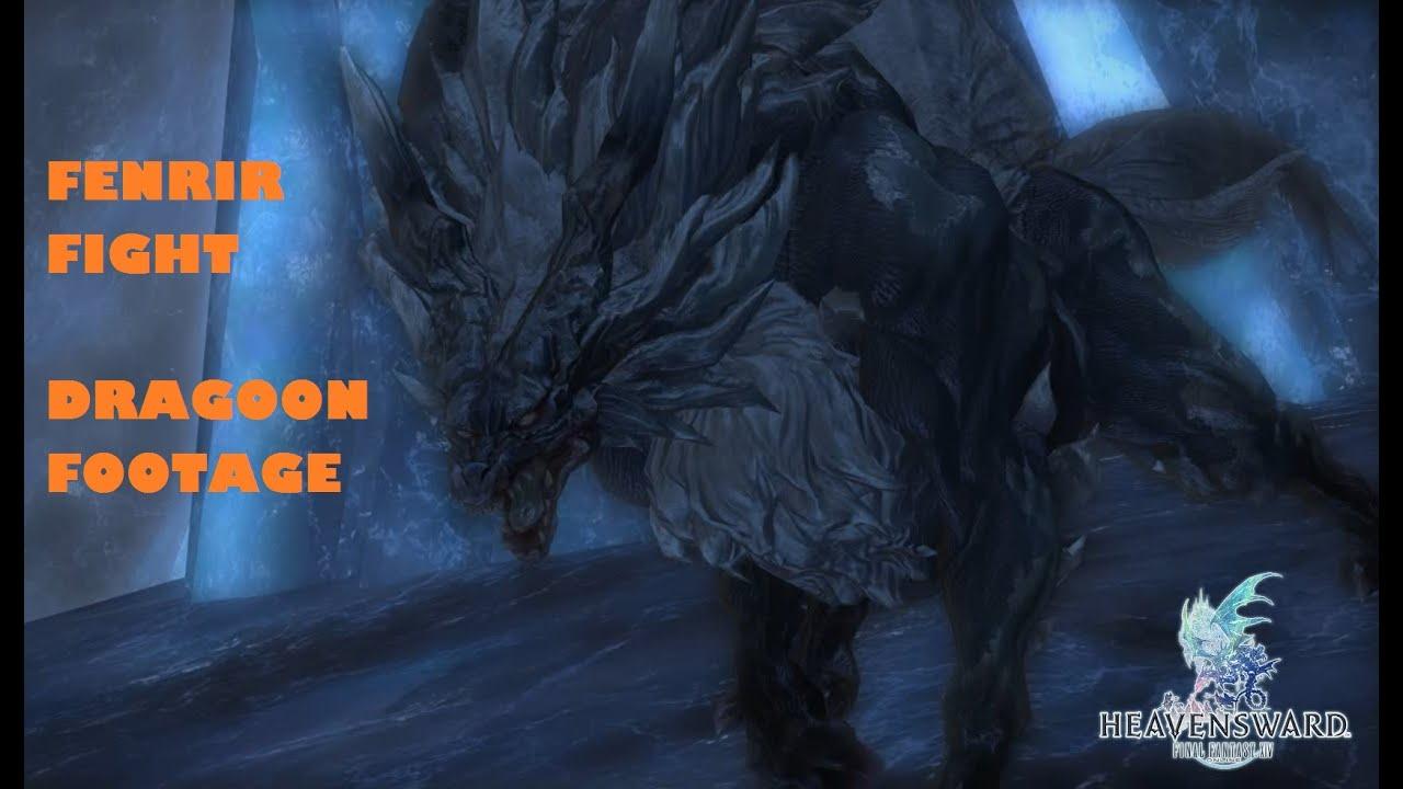 [Final Fantasy XIV] Footage - Fighting Snowcloak's last ...