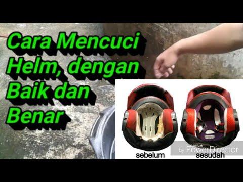 Cara Cuci Helm Youtube
