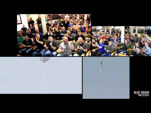 What 400 Very Happy Rocket Scientists Look Like (Blue Origin)