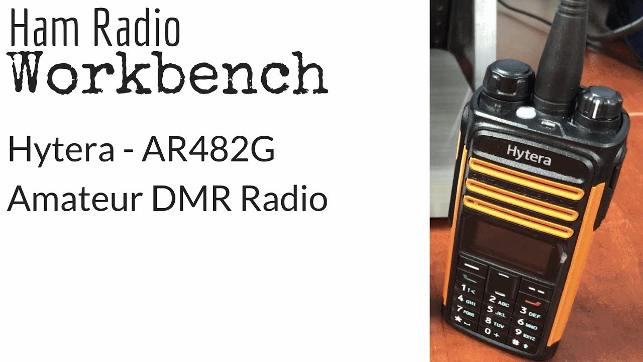 Hytera AR482G Amateur DMR Radio - In-depth Overview