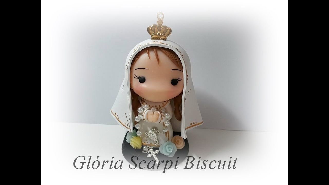 Nossa Senhora Aparecida Nossa Senhora De Fatima: DIY- NOSSA SENHORA DE FÁTIMA DE BISCUIT- TOYS