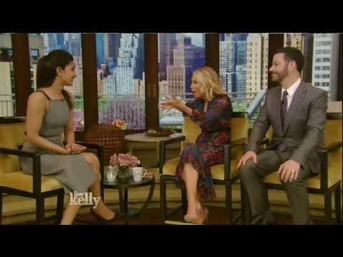 Priyanka Chopra interview Live! With Kelly co host Jimmy Kimmel 05/16/16