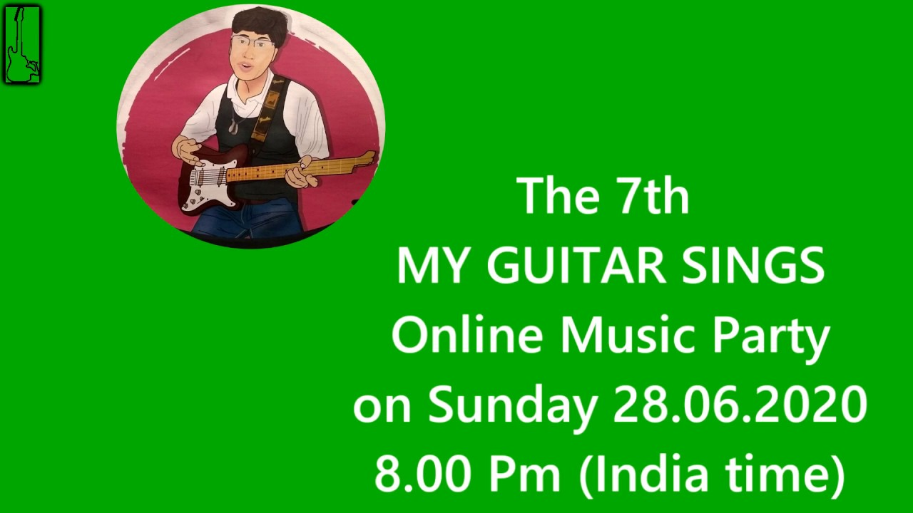 MY GUITAR SINGS - 7th ONLINE MUSIC PARTY - CHARLES SIQUEIRA VAZ