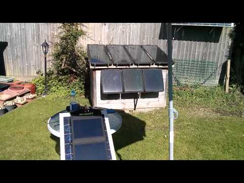 More USB Solar Panel Tests (nice sunny day)