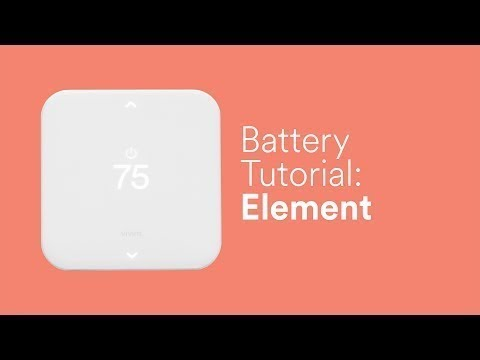Element Battery Replacement