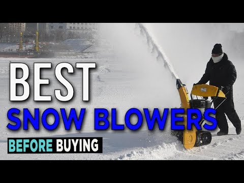 TOP 5: Best Snow Blowers 2017