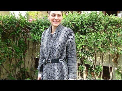 Easy Crochet Cardigan Get A Big Crochet Hook And Lets Begin Youtube