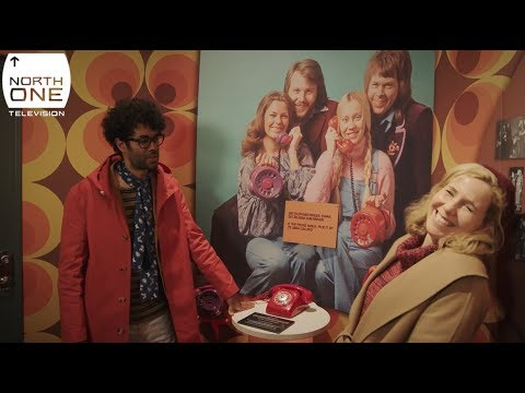 Richard Ayoade and Sally Phillips in Stockholm  - Travel Man: 48hrs in...