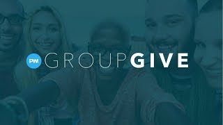 Peer to Peer Fundraising with GroupGive on PWI