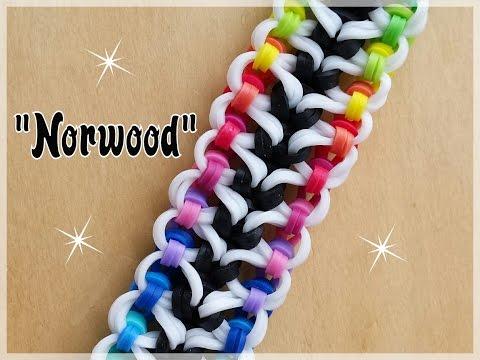 """Norwood"" Rainbow Loom Bracelet/How To Tutorial"