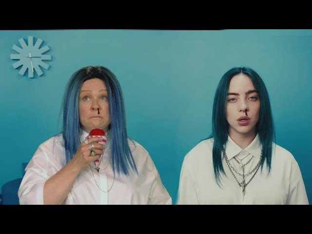 Melissa McCarthy and Billie Eilish Are Bad Guys