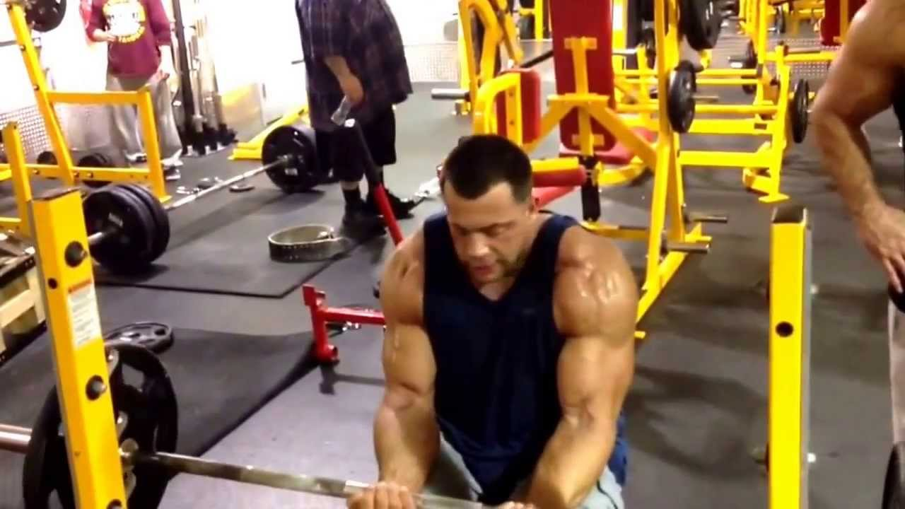 Mike The Situation Training Biceps And Forearms