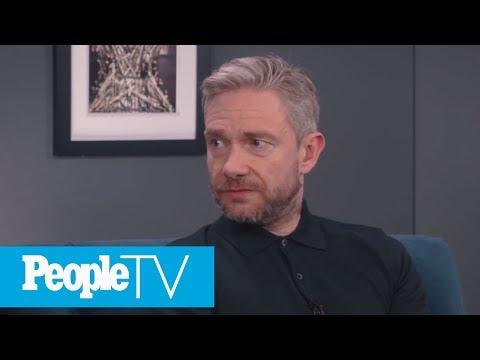 Martin Freeman Sums Up His 'Sherlock' Co-Star Benedict Cumberbatch | PeopleTV | Entertainment Weekly