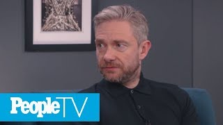 Martin Freeman Sums Up His 'Sherlock' Co-Star Benedict Cumberbatch | PeopleTV | Entertainment Weekly