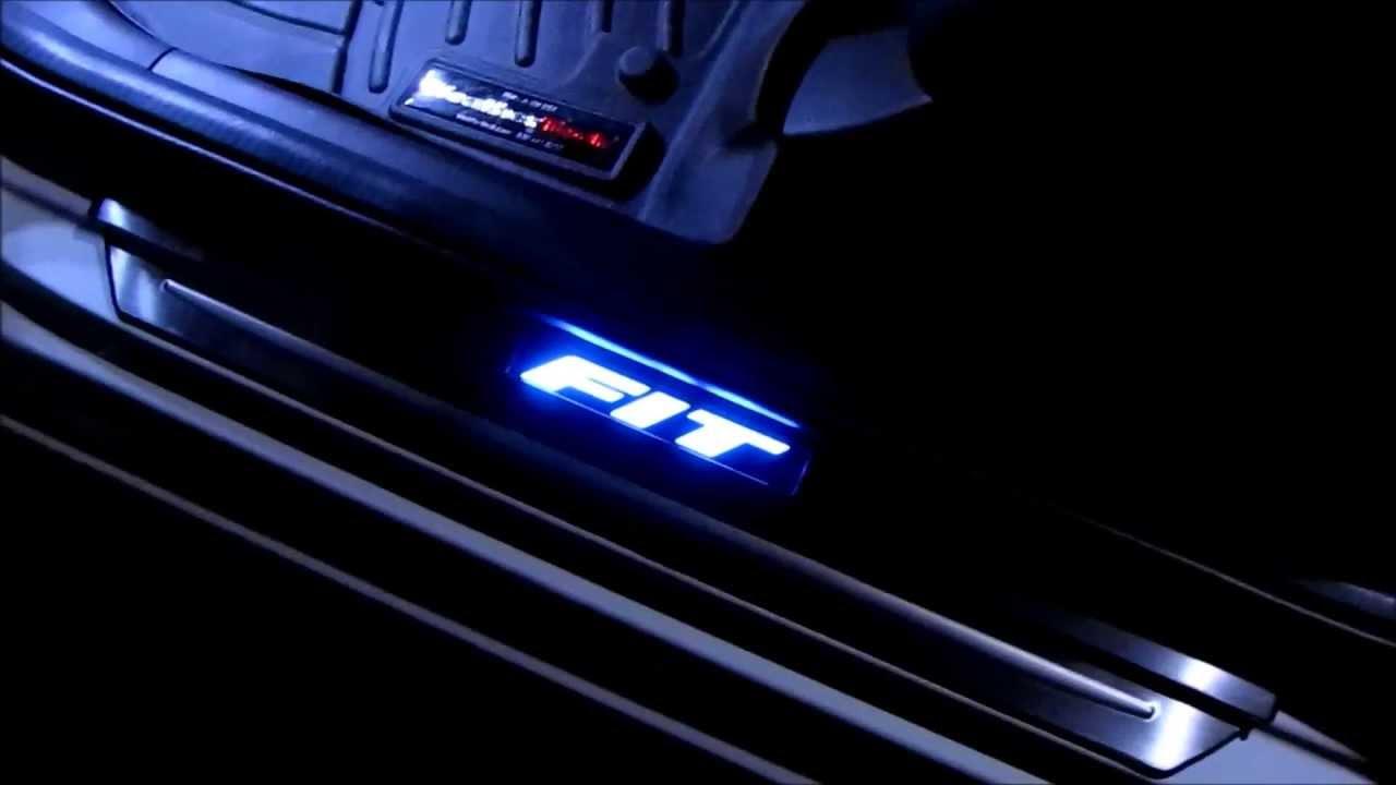 & Honda Fit Door Sill LED - YouTube pezcame.com